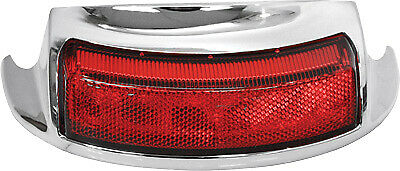 HardDrive Rear Fender Tip LED Light Red Lens F51-0645R