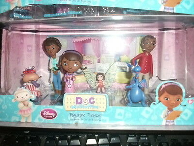 Disney Store Doc McStuffins Figurine Playset Cake Toppers