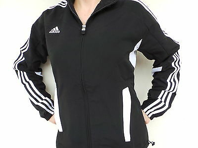 Smart AdIdAs women tracksuit jacket Jumper Football black size XS S M L XL