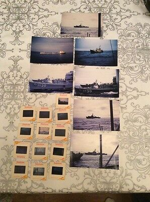 Lot Of (THIRTEEN) 1965 35MM Original KODACHROME  Slides RUSSIAN SHIPS