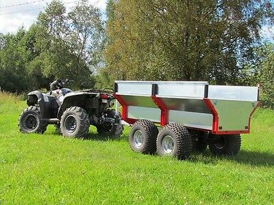ATV/Quad/Tractor offroad tipping trailer