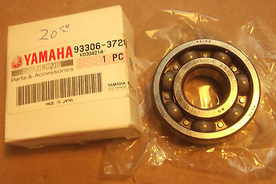 Yamaha Yz125  Yz 125  1986 2015  Genuine  Nos  Main  Bearing - # 93306-37204