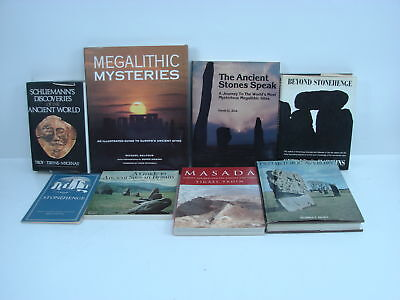 Lot of 8 Books Ancient Monuments of Prehistoric Europe & Classical Antiquity