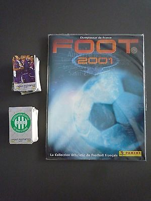 Rare Album Panini Vide/empty Foot 2001 + Set Complet  Neuf/mint