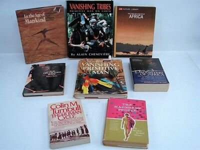 Lot Of 8 People Tribes And Cultures Of Africa Human Cycle Decorated Body Mankind