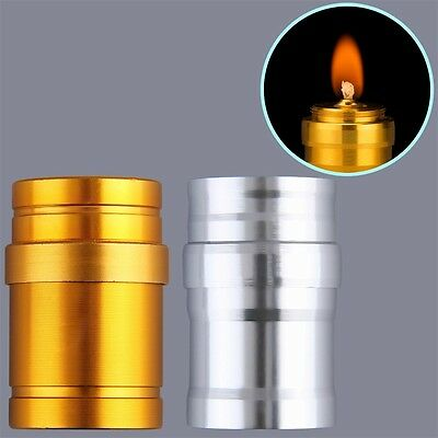 Portable Mini 10ml Alcohol Burner Lamp Aluminum Case Lab Equipment Heating SM