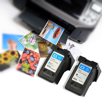 540XL And 541XLColorful Ink Cartridge Set For Canon Pixma MG2150 MG2250 lot SM