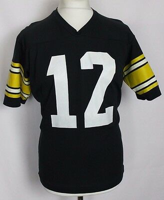 #12 Vintage Pittsburgh Steelers American Football Jersey Mens Large Rawlings