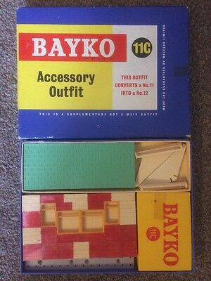 BAYKO 1950s SET 11c SUPERB Unused Still Cellophane Wrapped In Box