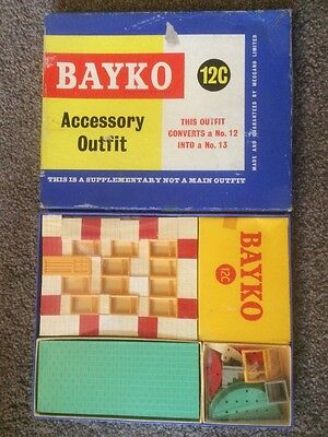 BAYKO 1950s SET 12c Excellent Unused Still Cellophane Wrapped In Box