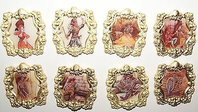Disney Pirates of the Caribbean Mystery Collection Complete 8 Pin Set With Boxes