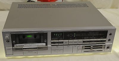 Pioneer Stereo Cassette/Tape Deck - CT-90R - Serviced