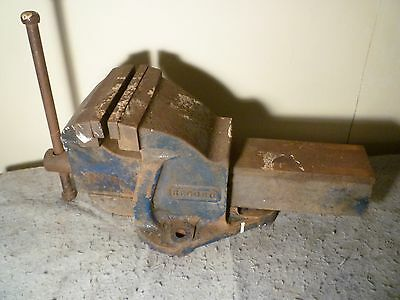 """Record England Large No.6 Bench Vice 6"""" 150Mm *pick Up Only* - Engineers Vintage"""