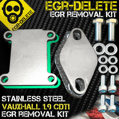 EGR DELETE REMOVAL blanking plate Vauxhall Astra Vectra 1.9 CDTI 150 bhp Z19 DTH