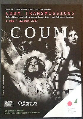 COUM Transmissions Exhibition,Guide,Badges,Magazine, Flyer, Throbbing Gristle