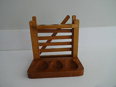PIPE RACK WOODEN GARDEN GATE DESIGN 3 PIPE SPACES-Pipes not included