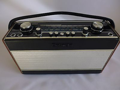 roberts R707 radio with PS12 Battery Eliminator.
