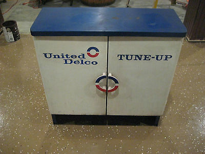 UNITED DELCO Tune up Parts Cabinet ...Shipping is no Problem!!!