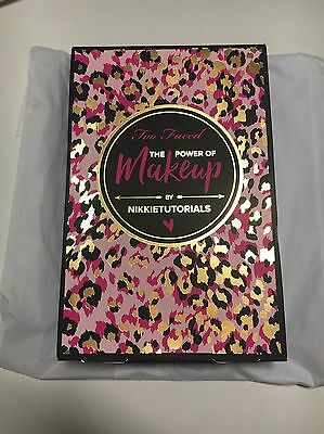 Too Faced The Power of Makeup by Nikkie Tutorials Limited Edition Quick Sale $90