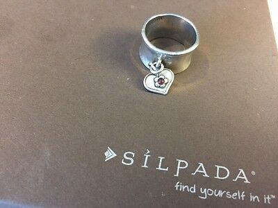 Silpada Sterling Ring, Size 7 - Retired - RARE