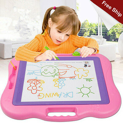 Multifunction Color Plastic Educational Magnetic Kids Writting Drawing Board ff