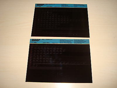 Mg Mgc Tourer & Gt Parts Microfiche Full Set Of 2 - Dated 1984