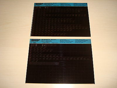 Mg Magnette Mk.3 & 4, Riley 4/68 & 4/72 Parts Microfiche Full Set Of 2 - 1984