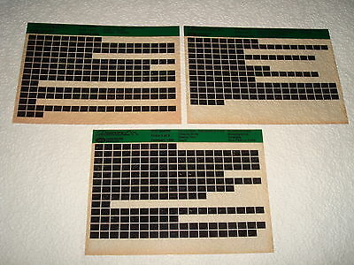 Land Rover Discovery Parts Microfiche Full Set 0F 3 - Dated February 1992