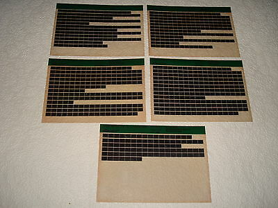 Land Rover 110 Up To August 1986 Parts Microfiche Full Set 0F 5 - October 1992