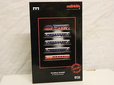 Marklin Z Gauge 4 DB Coaches From The Dompfeil Express Train Set
