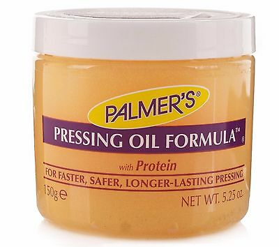 Palmer's Pressing Oil Formula With Protein For Fester, L-Lasting Pressing 5.25oz