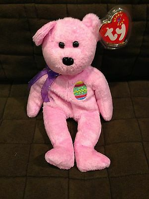 TY AUTHENTIC BEANIE BABY / BABIES EGGS BEAR mint with tags