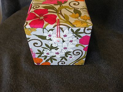 NWT Vera Bradley Tea Garden Hand-painted ornament - RETIRED