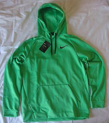 Nike Men's Therma Training Pull-Over Hoodie (826671 361), Green, Size M, BNWT