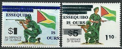Guyana Stamps: Essequibo is Ours (Sc.# 462 & 463)