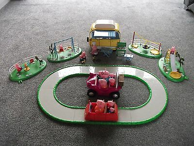 Joblot Peppa Pig Bundle, Camper Van Park, Play