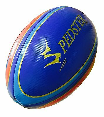 Rugby Ball Official Match ball Hand Stitched Standard Grip Size 5 - Spedster