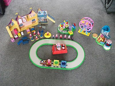 Joblot Peppa Pig Bundle, Fairground, Castle