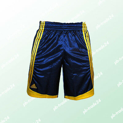 Adidas Basketball Short blau  EU Club Trainingshort Sportshort Fitnesshort