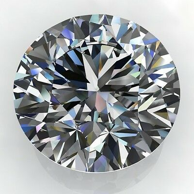 1.50CT Forever One Moissanite Loose Stone Round Brilliant Cut 7.5mm