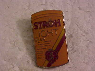 Stroh Light Beer Can Shaped Lapel Pin