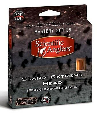 New $55 Scientific Anglers 440 Gr Scandi Extreme Floating Head Fly Line W/ Loops