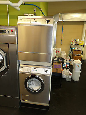 Miele Little Giant washer and dryer pair