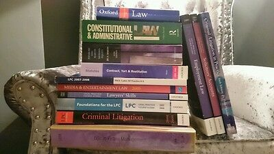 Legal Practice Course Law book bundle 13 books