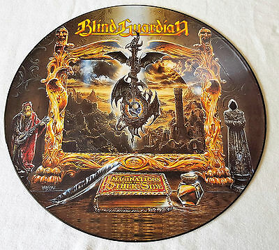 Blind Guardian - Imaginations From The Other Side Rare Limited Picture LP 1995