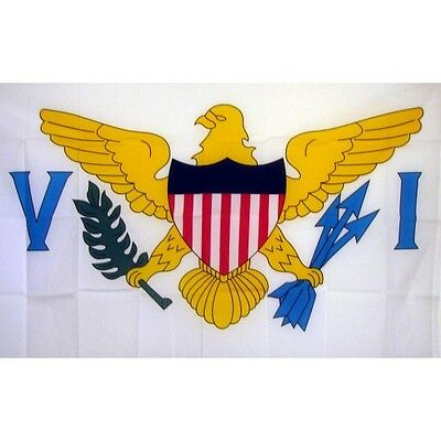 US Virgin Islands 3 x 5' Banner National Flag 90cm x 150cm
