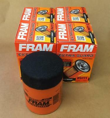 4 PH11 Fram Oil Filters  AMC Cadillac Jeep GMC Studebaker Case Allis Chalmers