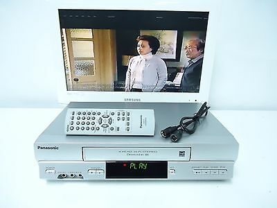 Panasonic PV-V4525S VCR VHS Recorder Player 4Head HiFi Stereo EXCELLENT CONDTION