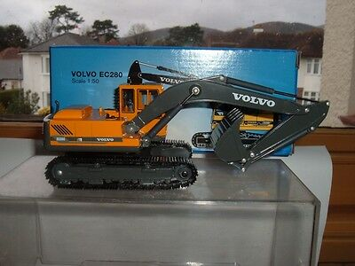Volvo Ec280 Crawler Excavator Vehicle Superb Model Scale Size 1/50 Scroll Down
