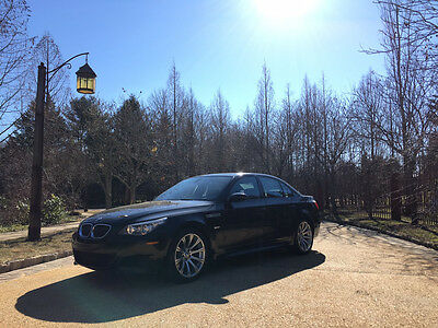 2008 BMW M5 Base Sedan 4-Door low miles free shipping warranty 6 speed manual clean carfax rare exotic v10 m 5